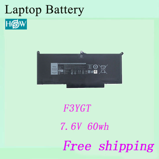 100% nouvelle batterie dordinateur portable pour Dell F3YGT DM3WC 0DM3WC 2X39G batterie livraison gratuite
