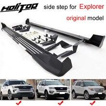 New arrival platforma do wchodzenia boczny pasek boczny do Ford Explorer 2011 2019, gwarancja jakości, podstawa ze stopu aluminium, obciążenie 250kg