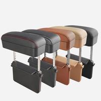 Car Armrest Box Adjustable Central Armrest Pad Car Styling Universal Protective Armrest Box Pad Center Console Support|Armrests|   -