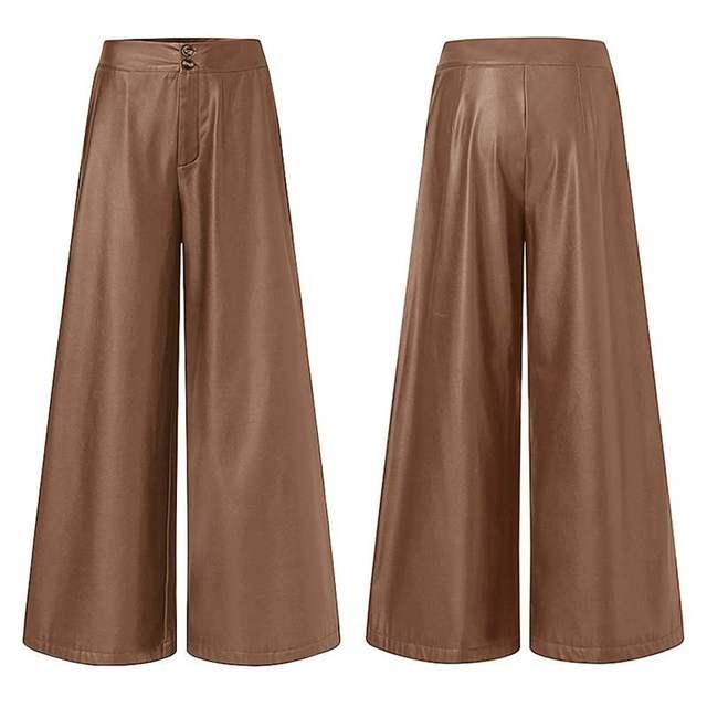 Leather Long Pants  6