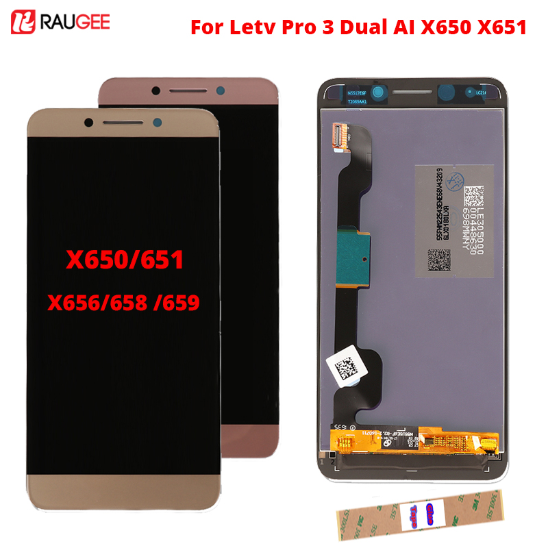 Display For LeTV LeEco <font><b>Le</b></font> Pro 3 X650 LCD Display Screen 100% New Test Well Screen Digitizer For Letv <font><b>X651</b></font> X656 X658 X659 LCD image