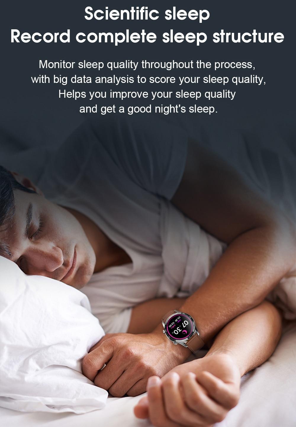 H719e971b2b4042a38b675725dc271941l IPbzhe Smart Watch Men Thermometer ECG Smart Watch IP68 Waterproof Blood Pressure Smartwatch Reloj Inteligente For Huawei Xiaomi
