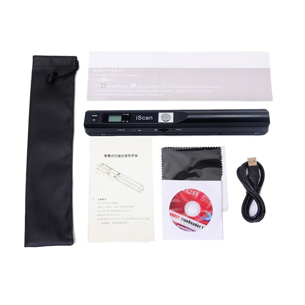 Небольшой сканер ручной сканер портативный сканер ручка сканер Мини Компактный ручной сканер высокой четкости