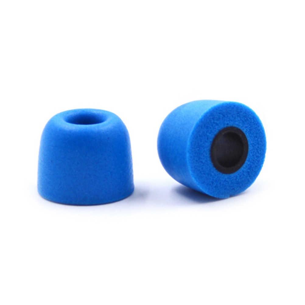 2 יח'\חבילה אוזניות טיפים זיכרון קצף QKZ מקורי 1 זוג קצף טיפים T400 אוזן רפידות לכל באוזן אוזניות אוזניות אוזניות