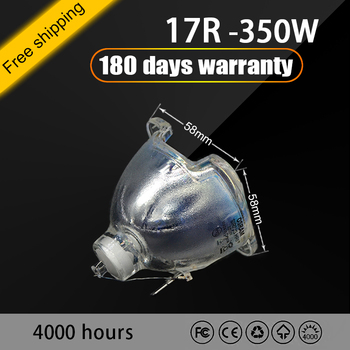 jidacheng 17R Lamp 350W Bulb 17r 350w beam moving head SIRIUS HRI Moving Head Beam Light Bulb And MSD Platinum 17r beam tanie i dobre opinie NoEnName_Null compatible lamp For stage disco club party nightclub theater bar w 85-265V Brand new 100 good quality 180days can be Guarantee