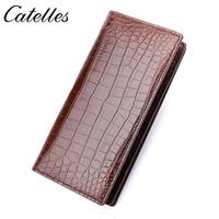 Leather Man Wallet Concise Money Bag Huge Capacity Coin Purse Coin Card Holder Fashion Male Wallet