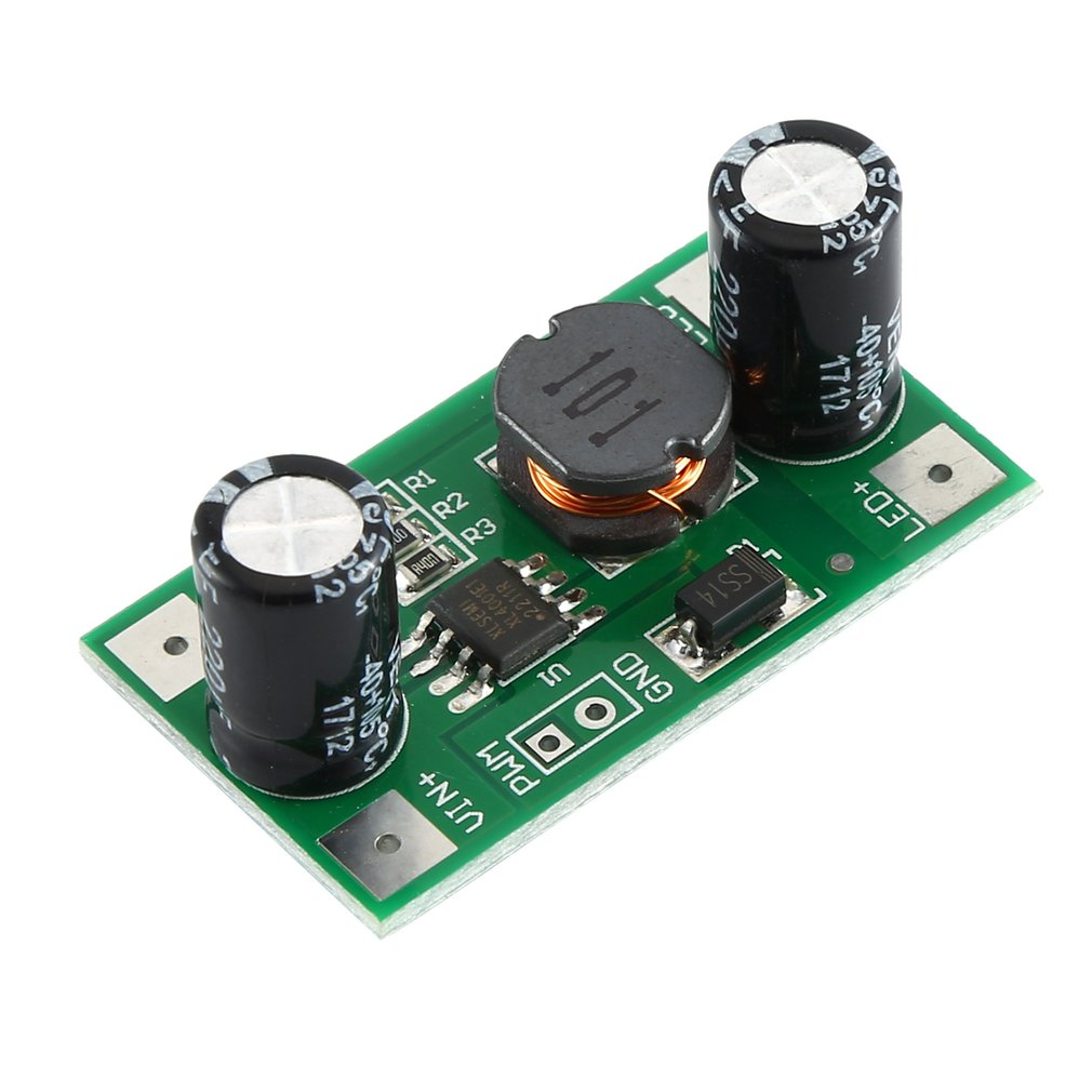 3W/2W LED Driver 700mA PWM Dimming Input 5-35V DC-DC Constant Current Module Buck Power Supply Module For Arduino Hot