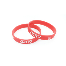 GOT7 Kpop Korean popular group surrounding silicone bracelet wristband for got7 custom jewelry