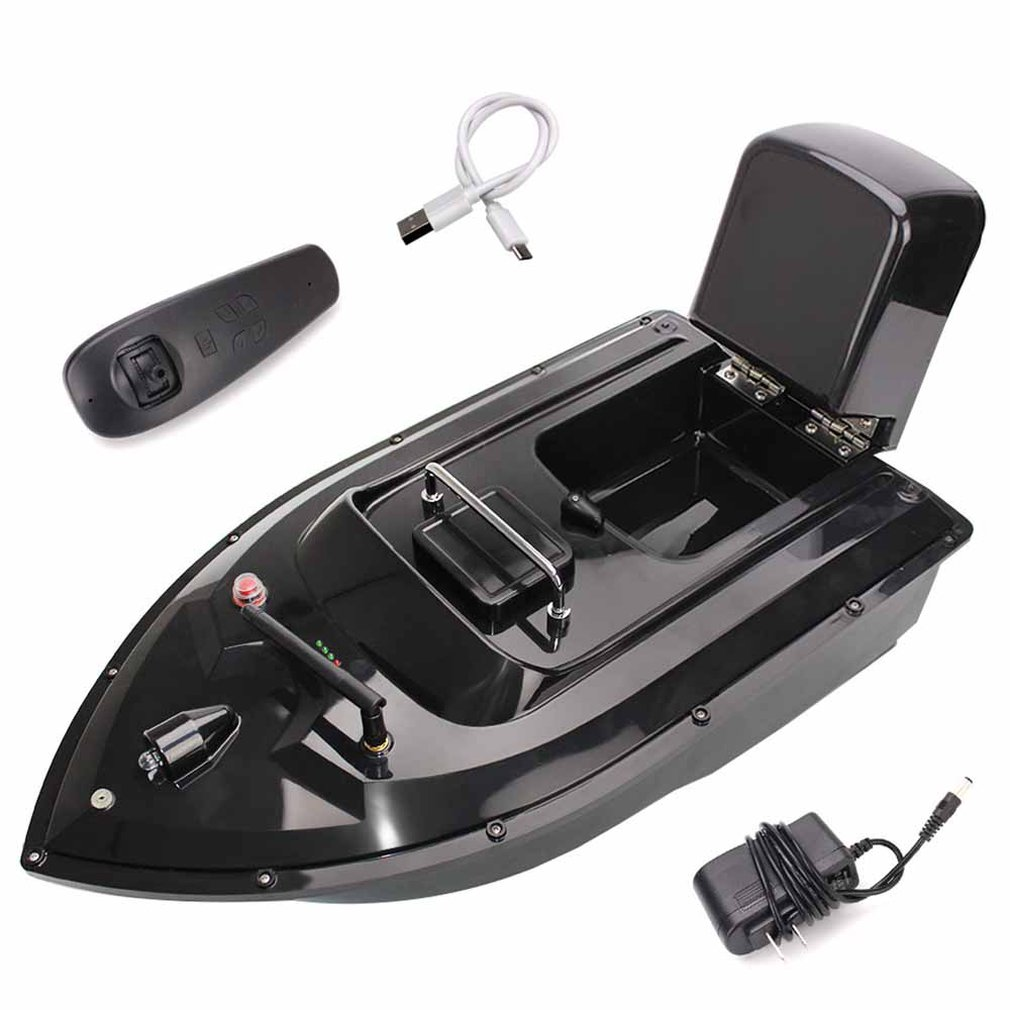 RC poisson Finder aviron nidification bateau crochet bateau 500m rc appâts de pêche automatique aviron unique entrepôt hors-bord cadeau