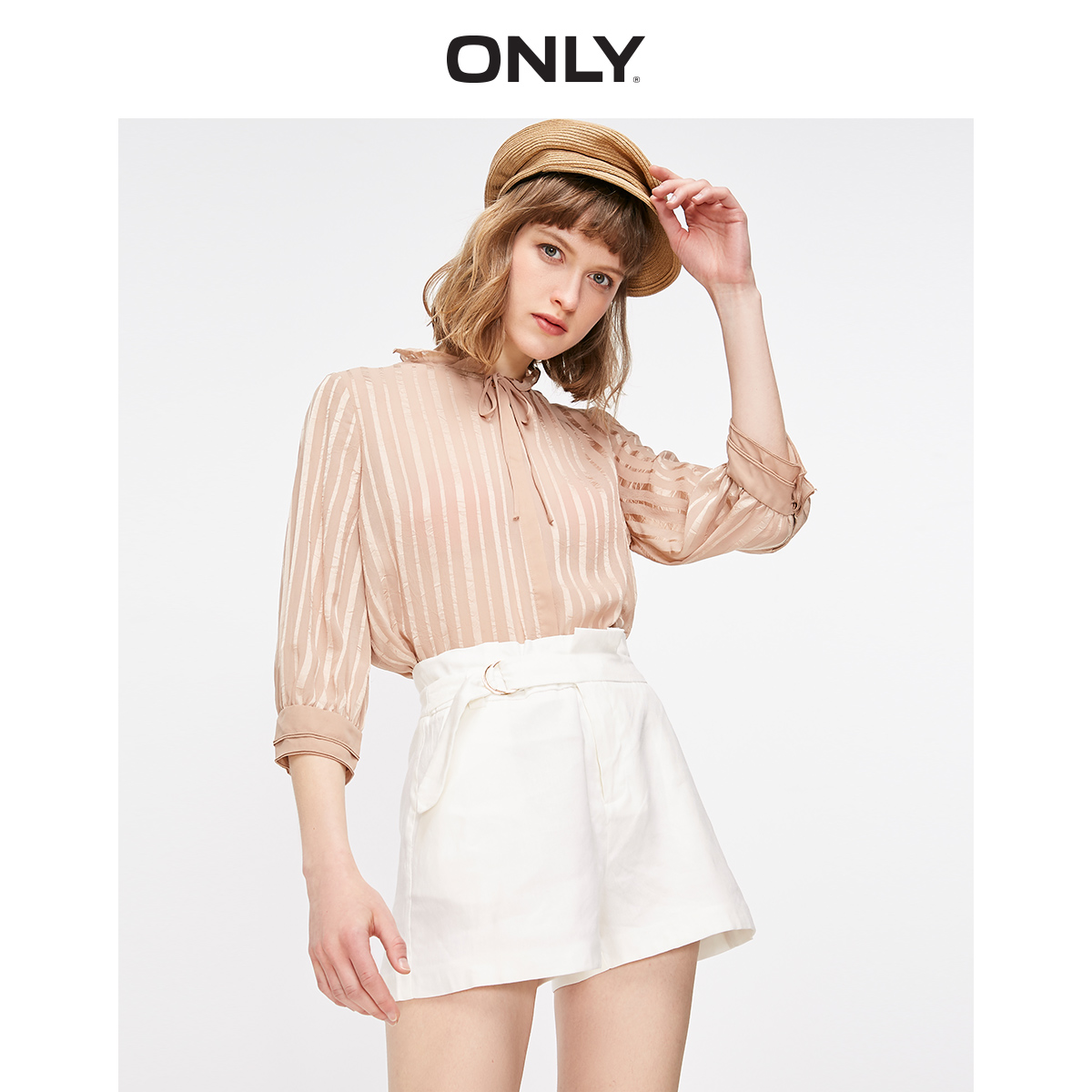 ONLY Women's Loose Fit High-rise Shorts   119115507