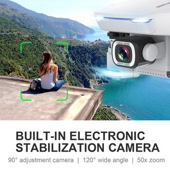 GPS Drone S162 RC Quadcopter with 5G WiFi FPV HD 4K Camera Foldable Quadrocopter VS E58 SG907 F11 XS812 E520S Dron Gift 4