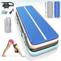 4m 5m 6m Tumbling Matte Gymnastik Airtrack werkzeug Yoga matte Pvc Aufblasbare Air track Boden Matte für kinder erwachsene tranning matratze matte
