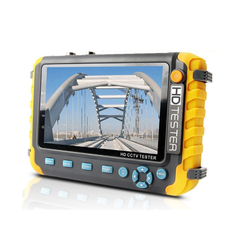 AHD CCTV Tester 5 Inches 1080P Portable CCTV Mini Monitor Camera Tester AHD CVBS Tester Kamery HDMI VGA Input R485 Video Tester