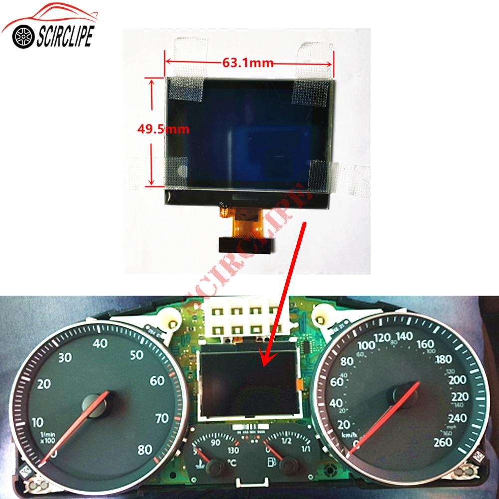 Car Dashboard Instrument Cluster VDO LCD Display Pixel Repair for VW Touran Passat Tiguan Golf 5 Caddy Jetta SEAT Toledo|Instrument Clusters|   - AliExpress