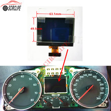 Auto Dashboard Instrument Cluster VDO LCD Display Pixel Reparatur für VW Touran Passat Tiguan Golf 5 Caddy Jetta SITZ Toledo(China)