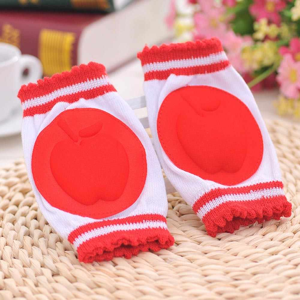 Cotton Baby Knee Pads Baby Boys Girls Safety Crawling Elbow Cushion Toddlers Knee Pads Protective Gear Safety Crawling