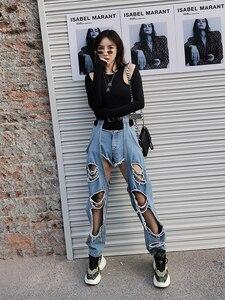 Европа станция 2020 Весна и лето новый поношенный ремень джинсовые брюки борьба с низкой талией джинсовые шорты Повседневный костюм из двух ч...