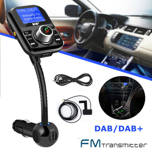 Автомобильный MP3-плеер с Bluetooth DAB + цифровой fm-передатчик с поддержкой телефонных звонков, два USB аудио адаптера, fm-передатчик