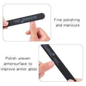 5 шт./компл. двухсторонняя полировальная пилочка для ногтей, полировальный блок для гелевых ногтей, педикюра, косметический уход, инструмент...