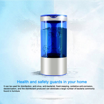 Lonizer Alkaline Maker/ Generator Rechargeable Portable Anti-aging for Pure H2 Hydrogen-rich Healthy Water Bottle Electrolysis