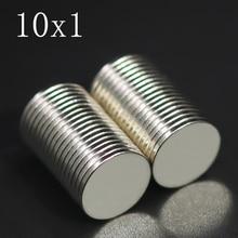 Neodymium Magnet Ndfeb Imanes-Disc Round Permanent Super-Powerful Strong 10mm-X-1mm 10x1