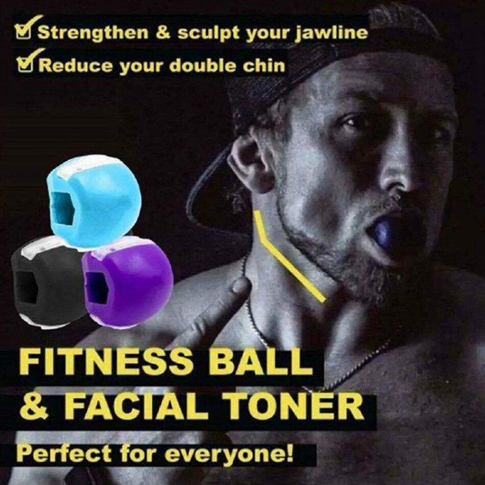 Фитнес-мяч для лица, Тоник для лица, тренажер для челюсти, тренажер для челюсти, мяч для упражнений
