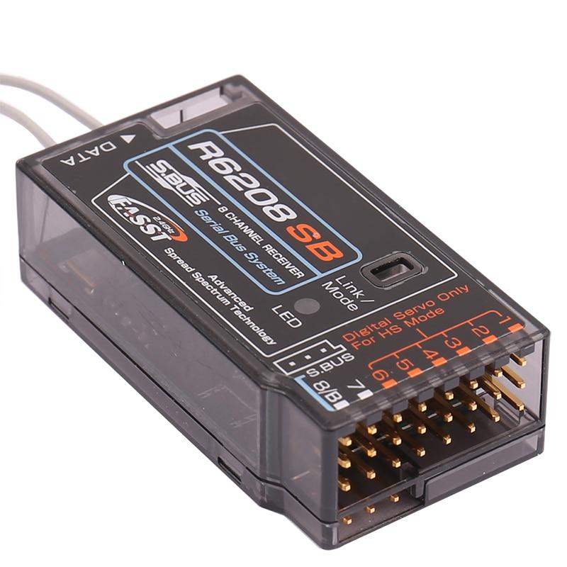 R6208SB FASST Hohe Spannung Empfänger für Futaba S. bus 6208 18MZ 18SZ 14SG T8FG 16SZ SBUS empfänger 8 channal für RC modell-in Teile & Zubehör aus Spielzeug und Hobbys bei  Gruppe 3