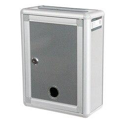 Lugar de origen suministro de mercancías pequeña caja de aleación de aluminio letras gris distrito Villa exterior caja de letras calidad-fabricantes di