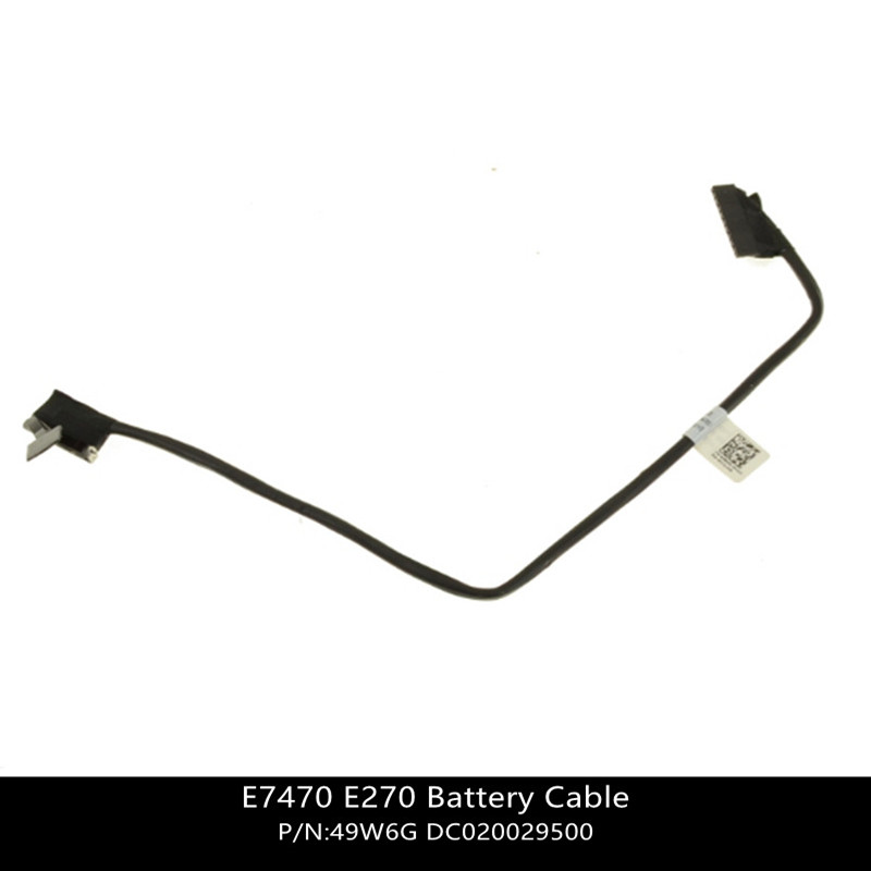 New For Dell Latitude E7470 Battery Cable - Cable Only -  49W6G 049W6G DC020029500  W/ 1 Year Warranty