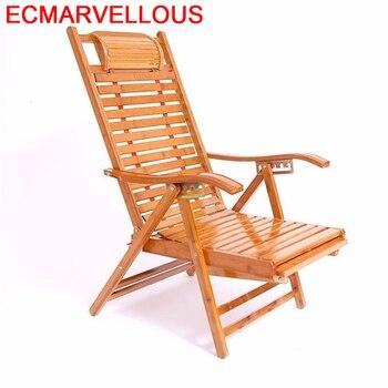 Silla de Relax Divano, Cama Plegable de bambú, Sillones modernos Para Sala,...