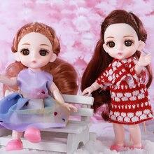 Подвижные шарнирные куклы 16 см сменные игрушки для одежды милая