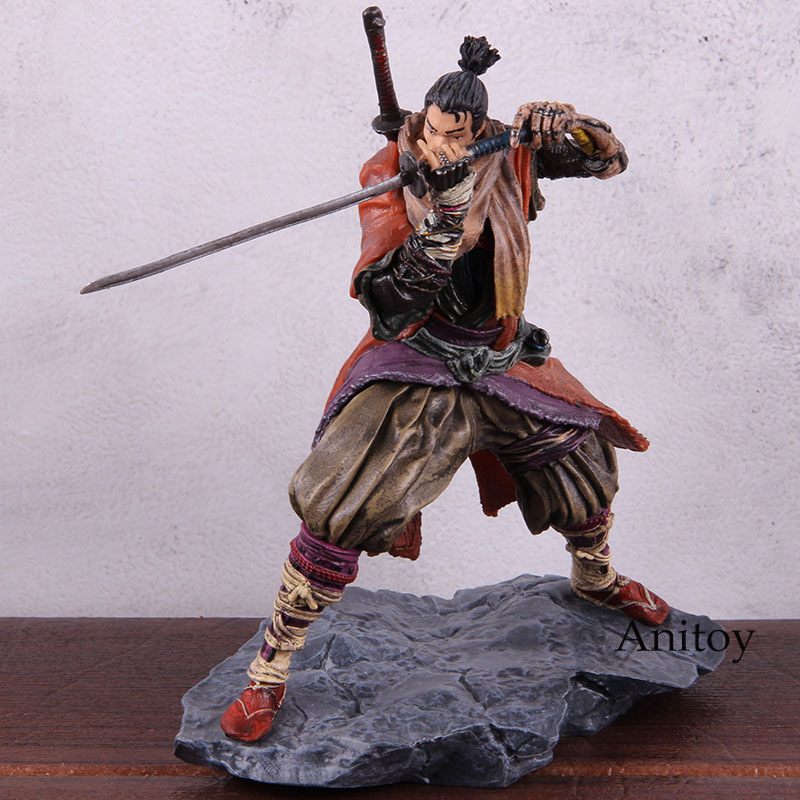 Image 2 - Sekiro Shadows Die Twice Figure PVC Anime Action Figures Collectible Model ToyAction & Toy Figures   -