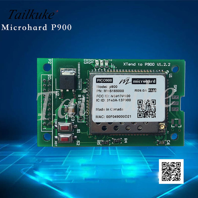 Canada Microhard P900 Module + Floor Replacement Xtend Does Not Need to Change 5V to 12V Power Supply.