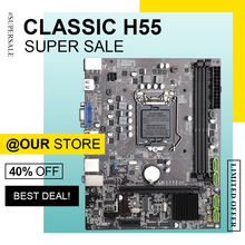 H55 Mainboard Matx-Support Lga1156 Dual-Channel DDR3 Sata-2.0 HDMI VGA USB2.0
