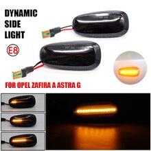 LED Năng Động Bên Cột Mốc Nhan Blinker Chảy Nước Ánh Sáng Nhấp Nháy Cho Opel Zafira 1999 2005 Astra G 1998 2009