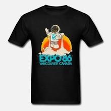 T-Shirt unisexe pour homme et femme, unisexe, pour l'expo 86, pour le Canada