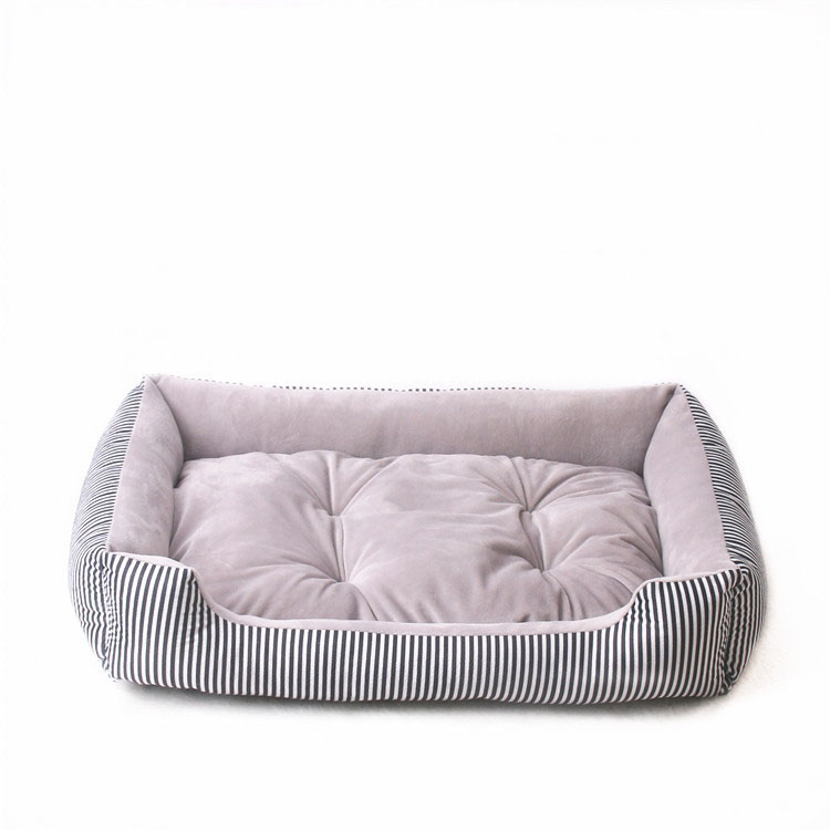 baby soft large Pet Dog Bed Cat kennel Warm Cozy Dog House Soft Fleece Nest Dog Baskets Mat Autumn Winter Waterproof Kennel 11