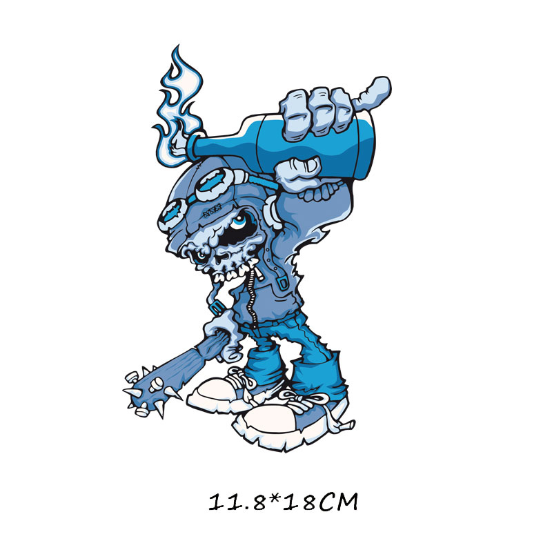 Мультяшный пони, единорог, динозавр, железная нашивка, теплопередача, одежда в полоску, футболка для мальчиков и девочек, сделай сам, волшебная наклейка на заказ - Цвет: ZT0768
