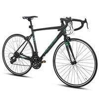 EU Free Ship HILAND 700C Aluminum Frame Road Bike  Bicycle Double Disc Brake Shimano Parts 1