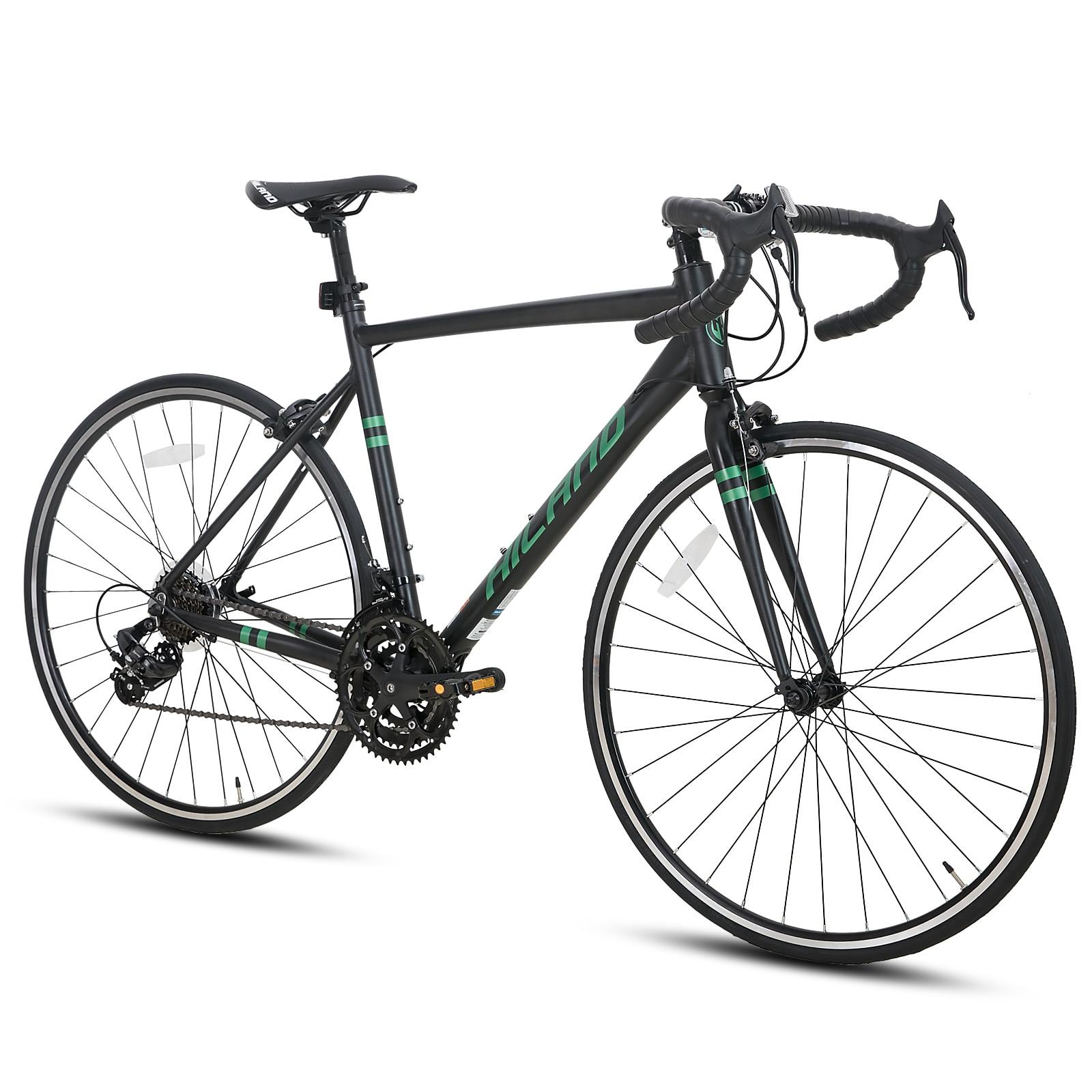 Склад в Нидерландах, бесплатная доставка, алюминиевая рама HILAND 700C для шоссейного велосипеда, запчасти Shimano с двойным дисковым тормозом