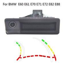 Hd câmera de visão traseira do carro veículo invertendo estacionamento câmera dc 12v 150 graus grande angular para bmw e46 e53 e90 série 3 série 5 e39