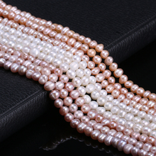 Hot Sale Natural Freshwater Pearl 100% Cultured Round Loose Beads For DIY Necklace Bracelet Jewelry Making