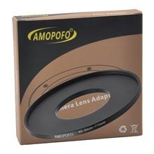 Evrensel 40.5 77mm/40.5mm 77mm Step Up halka filtre adaptörü için UV, ND, CPL, Metal Step Up halka adaptörü