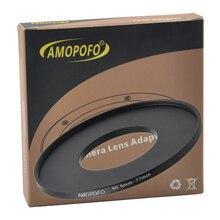 Universal de 40,5 77mm/40,5mm a 77mm paso anillo adaptador para filtros para UV y CPL de anillo de metal para regulador adaptador