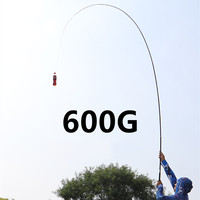 Super Light Hard Fishing Rod 98% High Carbon Fiber Telescopic Black Handle Stream Pole3.6M4.5M7.2M8M9M10M Travel Carp Rod