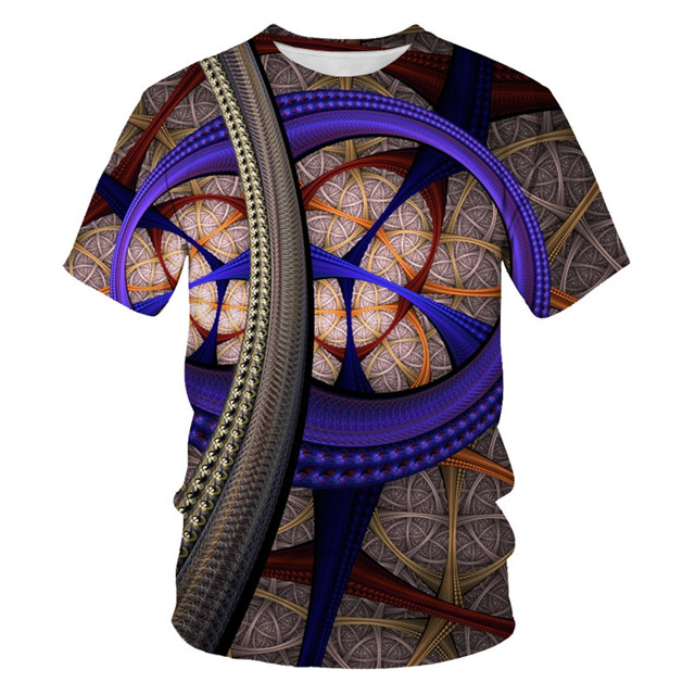 Мужская футболка с 3D принтом, новинка, брендовая футболка с коротким рукавом, Мужская забавная футболка в стиле Харадзюку, облегающая футболка в стиле хип-хоп, уличная футболка, Homme - Цвет: NT-103