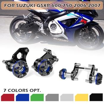 Motor GSXR600 GSXR750 06 07 Frame Slider Crash Pad Protector Guard for Suzuki GSXR 600 GSXR 750 GSX-R 600 GSX-R 750 2006 2007