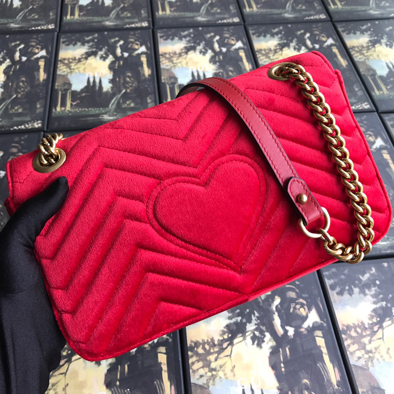 Velvet chains gg bags for ladies luxury handbags women bags designer high quality fashion hasp flap sac femme free shipping|Shoulder Bags| - AliExpress