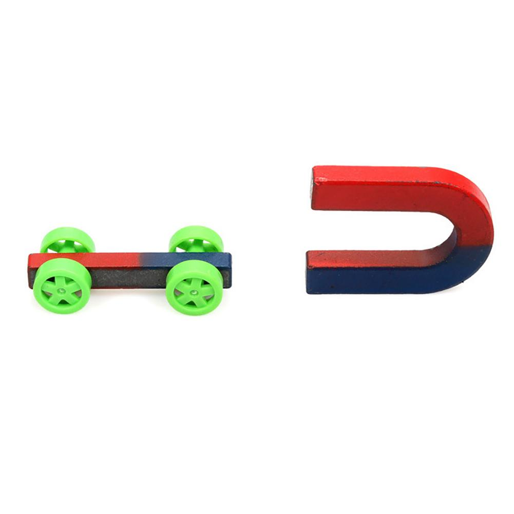 New Student Kids Mini Magnetic Car Toy Physics Science Experiment Teaching Aids