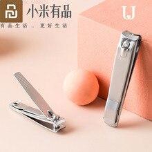 Cortadora de uñas Youpin jordanjuyd de acero inoxidable, herramienta profesional para manicura